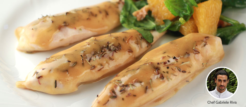 ... | Recipe for Herb Roasted Chicken Tenders with Honey Mustard Sauce