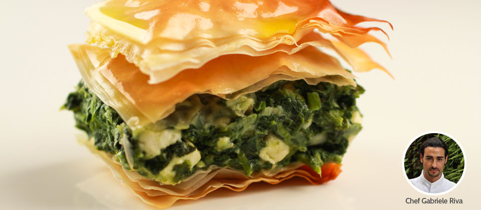 Sasa Demarle | Recipe for Spanakopita (Greek Spinach Pie)