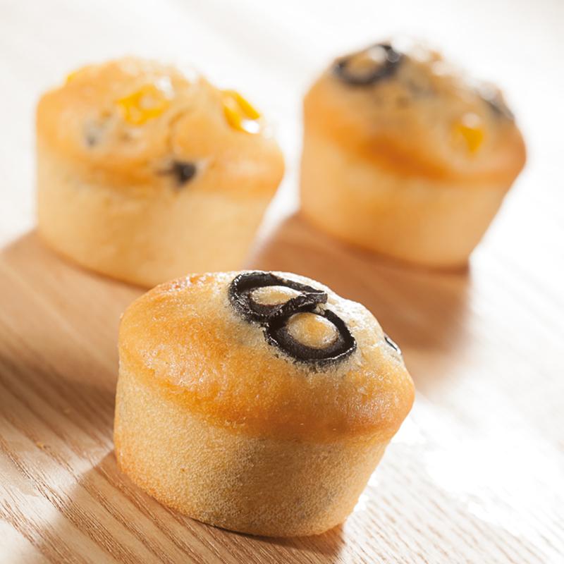 Premium-Silikonbackform 11 x Muffin 51 x 28 mm in Gastronomie-Qualität